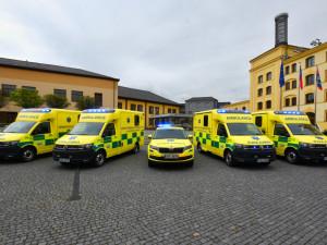 Nové sanitní vozy