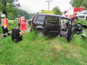 Tragická nehoda na Trutnovsku.