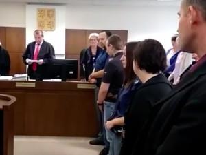 Janáková u soudu, kde dostala třicet let.