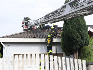Požár v Malšovicích.