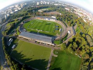 Fotbalový stadión v Hradci Králové