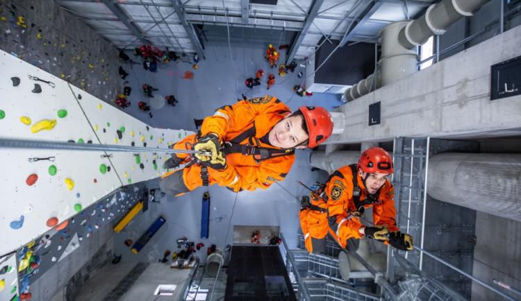 FOTO: Unikátní stavba pro hasiče aspiruje na stavbu roku