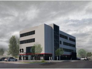 Nová budova tranfsfuzního oddělení