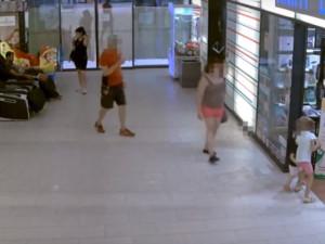 Záběry z bezpečnostních kamer