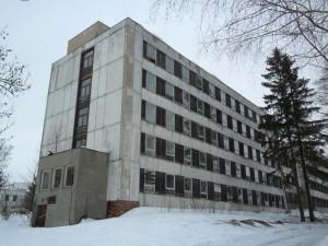 Bývalá ubytovna v Rokytnici