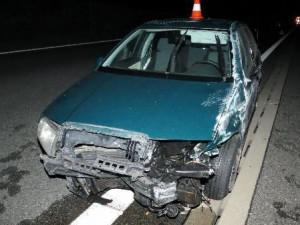dopravní nehoda na dálnici D11