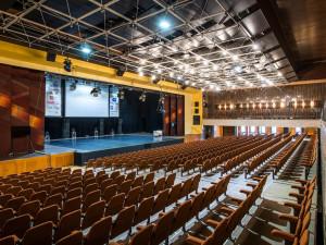 největší sál v hradeckém Aldisu