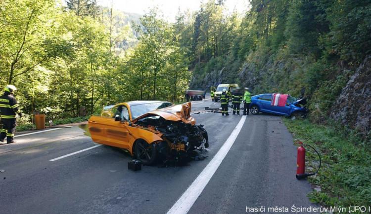 Policie hledá svědky ze sobotní tragické nehody u Špindlerova Mlýna
