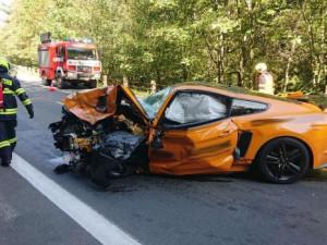 Fotografie krátce po nehodě