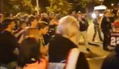 VIDEO: Boleslavští fanoušci provokovali a po utkání se strhla bitka