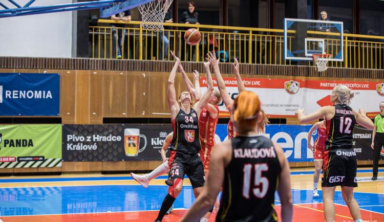 Hradecké basketbalistky zažívají povedený vstup do nové sezony