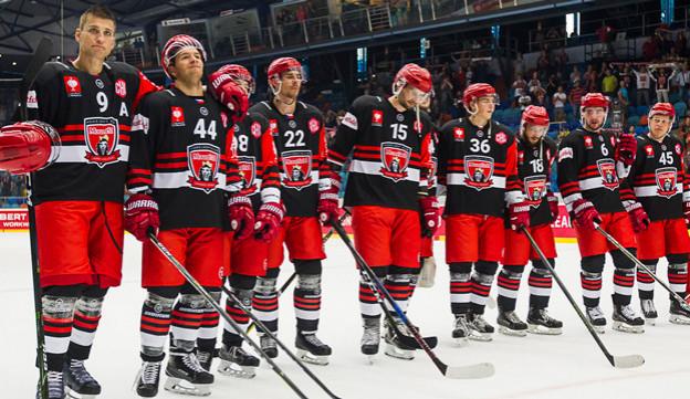 Hradečtí hokejisté smetli na závěr ligy mistrů Graz a poprvé v historii si zahrají osmifinále
